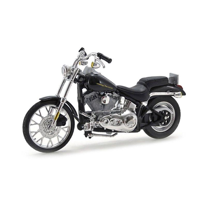 Maisto Harley Davidson Softail Deuce FXSTD 2000 Hitam Diecast [1:18]