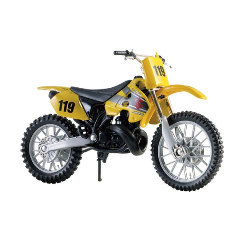 Maisto Suzuki RM 250 Kuning Diecast [1:18]