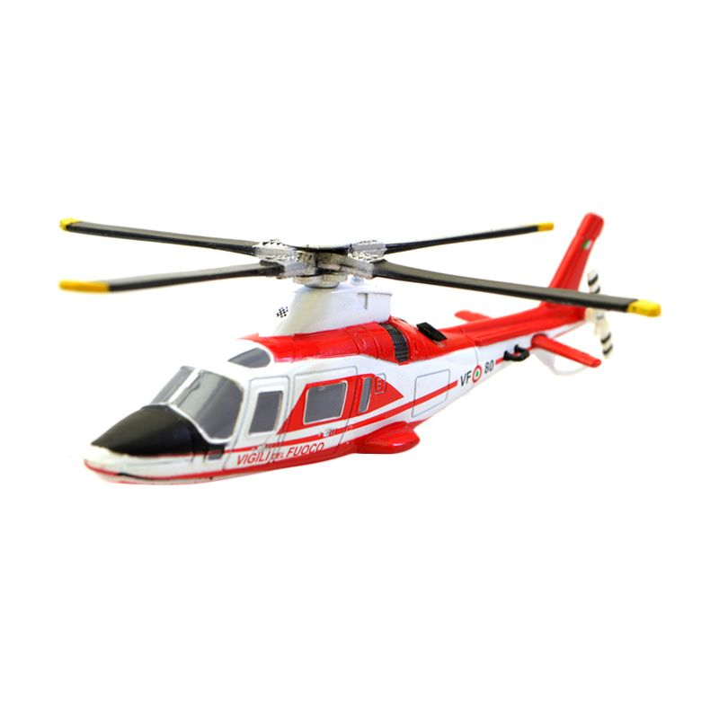 New Ray Agusta Vigili Del Fuoco Diecast Helikopter