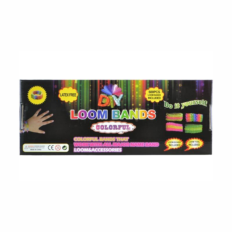 Loom Bands Starter Kit Hitam