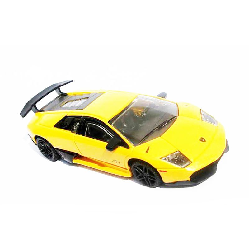 Rastar Lamborghini Murcielago LP670-4 SV Kuning Diecast [11 cm]