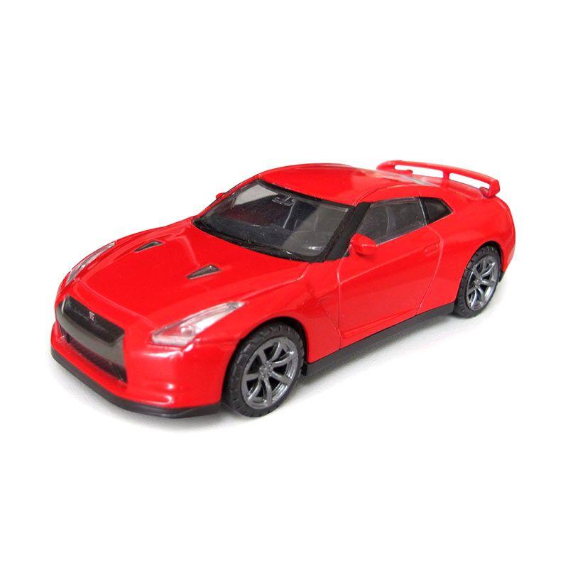 Rastar Nissan GTR Merah Diecast [9 cm]