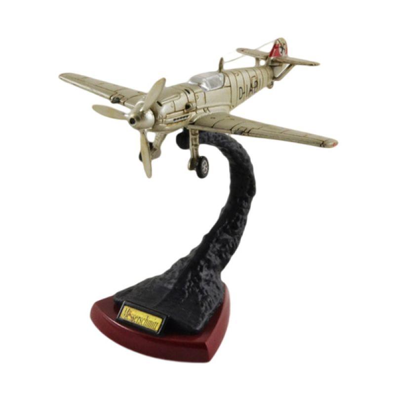 Sora-Pesawat Tempur-BF-109 Silver (ABS 8 cm)