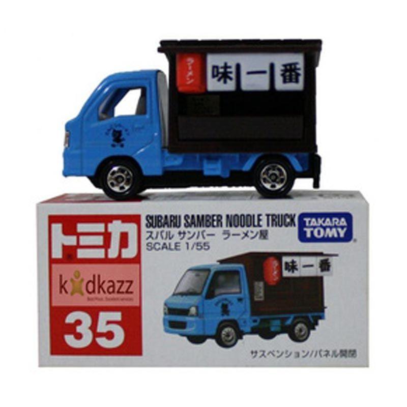Takara Tomy 35 Subaru Samber Noodle Truck Diecast [1:55]