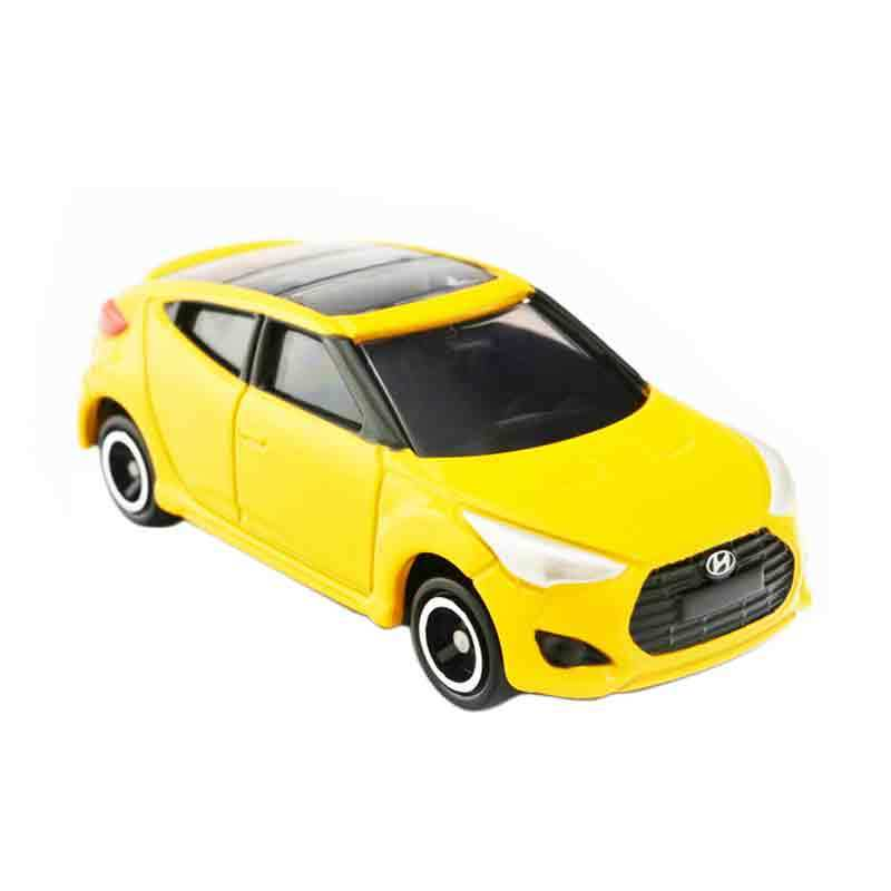 Takara Tomy KR02 Hyundai Veloster Kuning Diecast