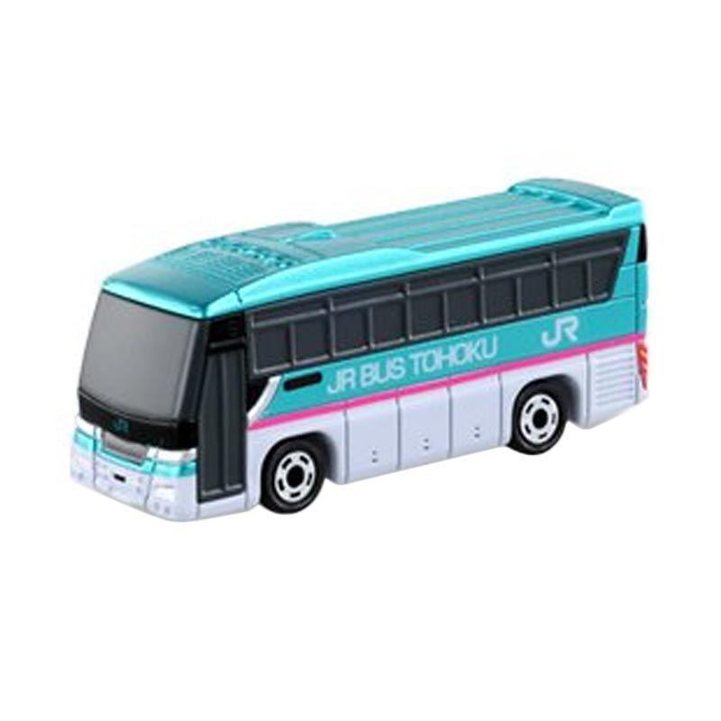 Takara Tomy Tomica 16 Isuzu Gala JR Bus Tohoku Hijau Diecast [1:171]