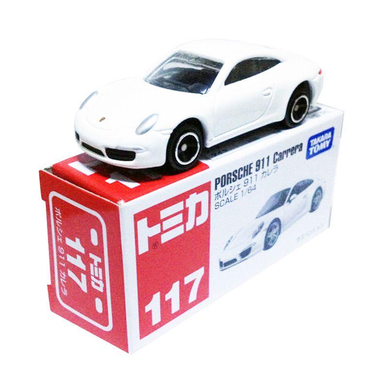 Tomica 117 Porsche 911 Carrera Putih Diecast