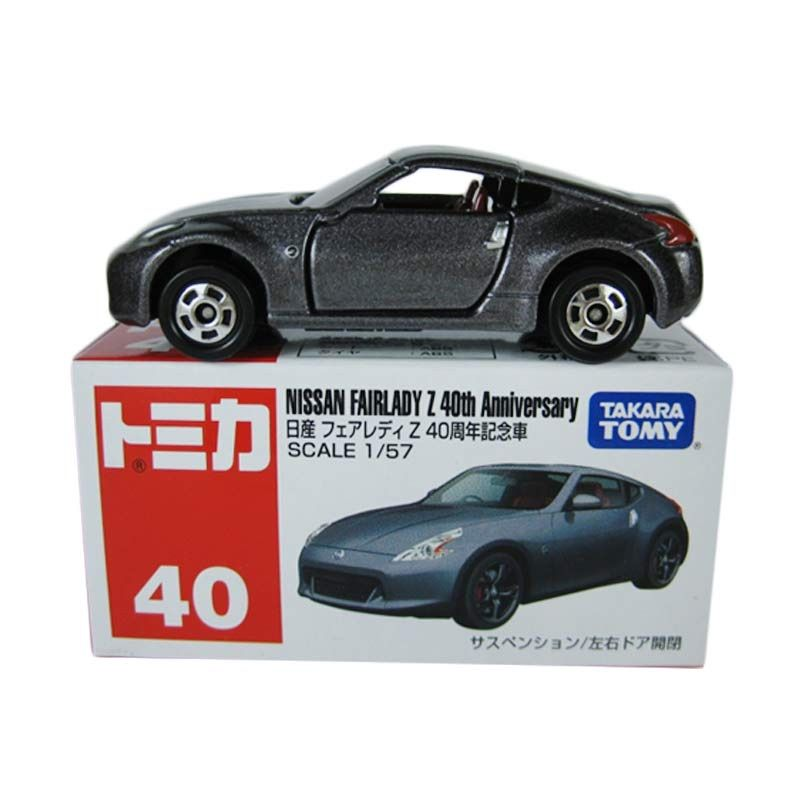 Tomica 40 Nissan Fairlady Z 40th Anniversary Abu-Abu Diecast