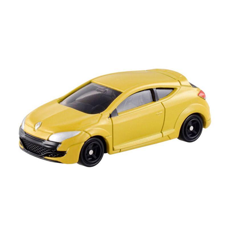 Tomica 44 Renault Megane RS Yellow Diecast