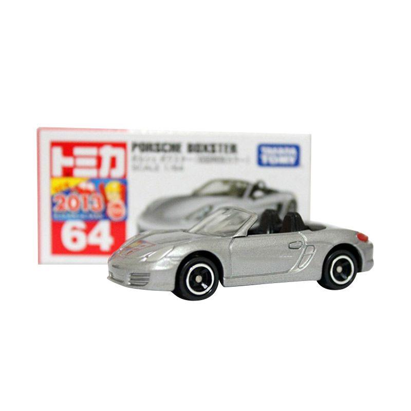 Tomica 64 Porsche Boxster Silver Diecast