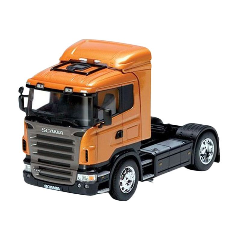 Welly Truk Scania R470 Orange Diecast [18 cm]
