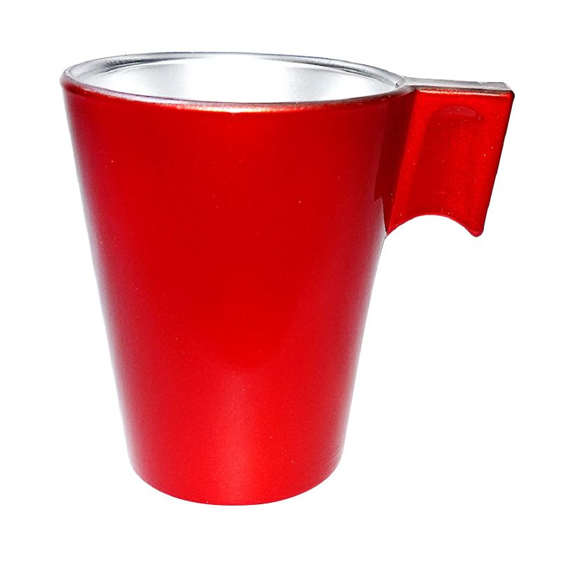 Luminarc Flashy Red Expresso Cup Gelas [8 cL]