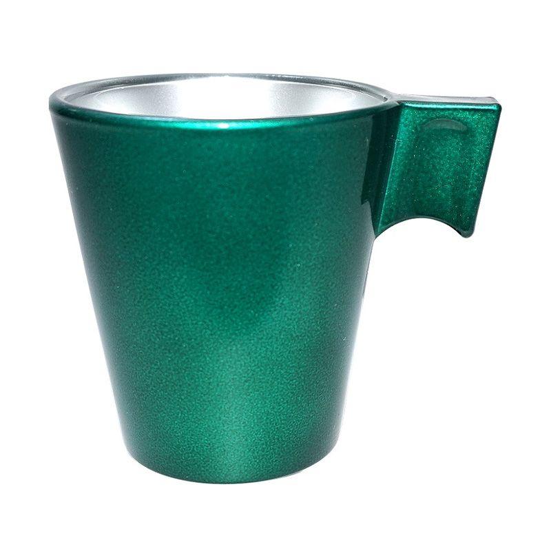Luminarc Flashy Expresso Green Cup Gelas [8 cL/2 Pcs]