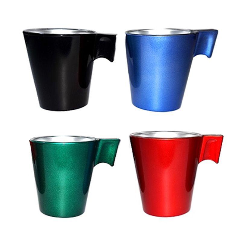 Luminarc Flashy Expresso Multicolor Cup Gelas [8 cL/8 Pcs]