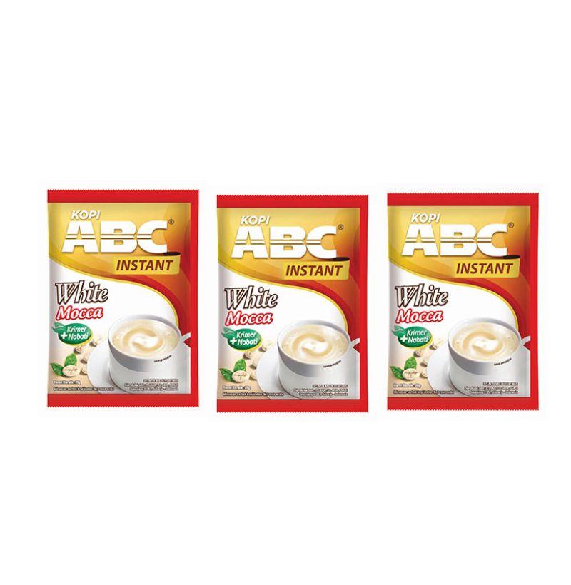 Jual ABC Instant White Mocca Kopi Bag (20 sachet @20 Gram) [Pack of 3] Online - Harga & Kualitas Terjamin | Blibli.com
