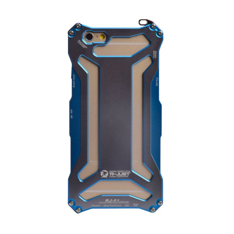 Accessories Hp I3c Cool Gundam Style Blue Casing for iPhone 6