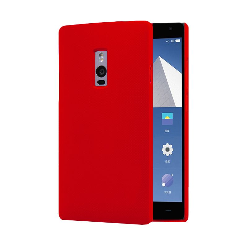 Accessories Hp Hardrock Red Maroon Casing for One Plus 2