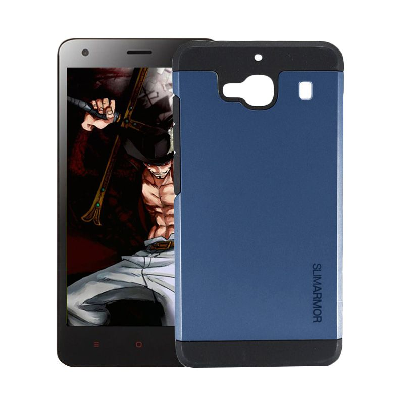 Accessories Hp Slim Armor Blue Navy Casing for Xiaomi Redmi 2 Prime