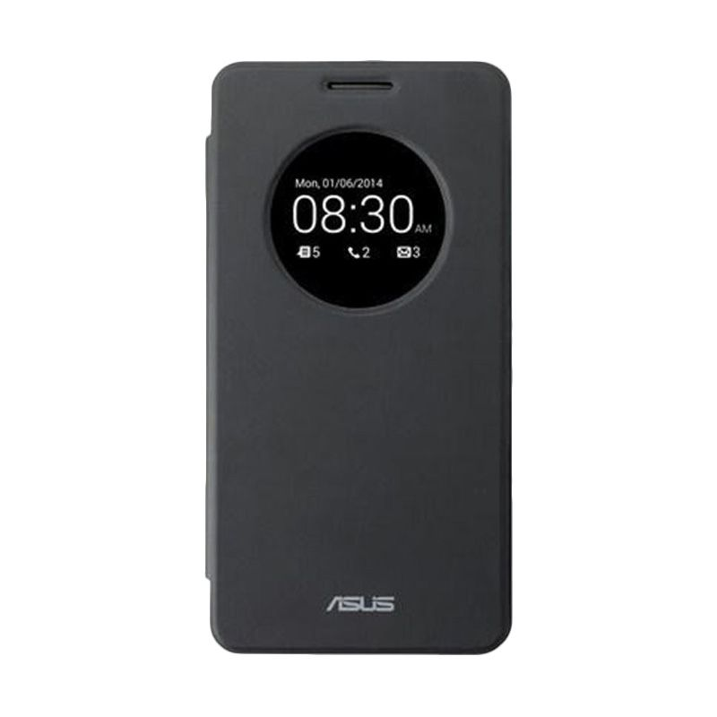 Asus Flip Cover Black Casing for Asus Zenfone 2