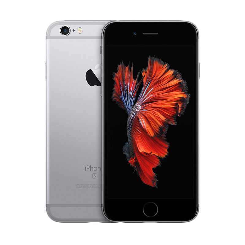 Apple iPhone 6S 16 GB Space Grey Smartphone + Typo Keyboard Case