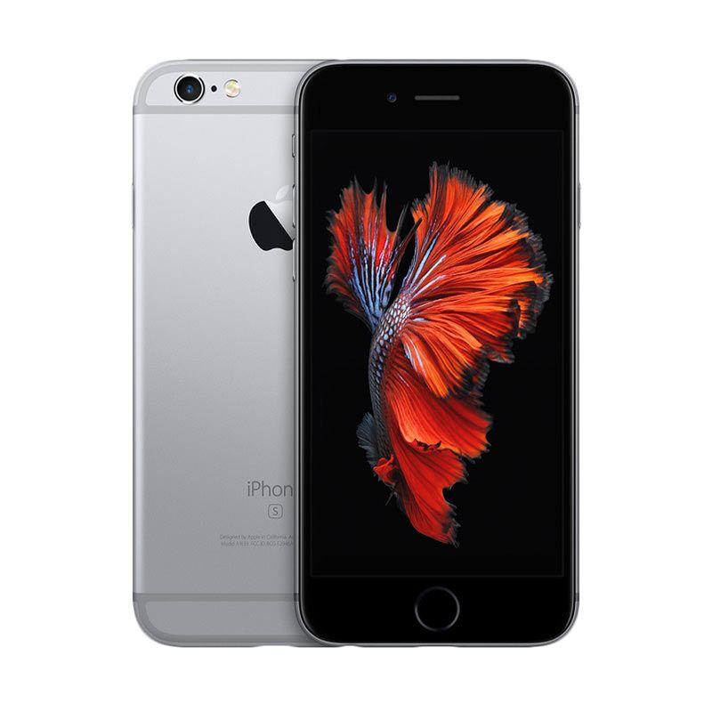 Apple iPhone 6S 64 GB Space Grey Smartphone + Typo Keyboard Case