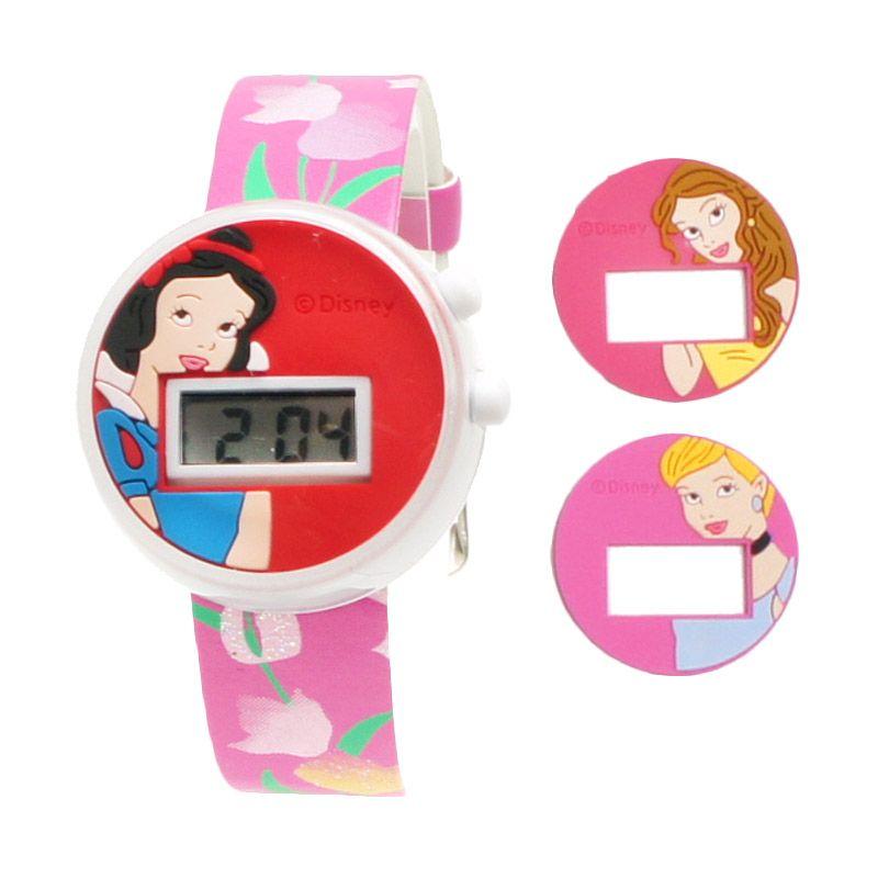 Accessoria Disney Princess PSSQ1113(3IN1)-01A Hot Pink Jam Tangan Anak