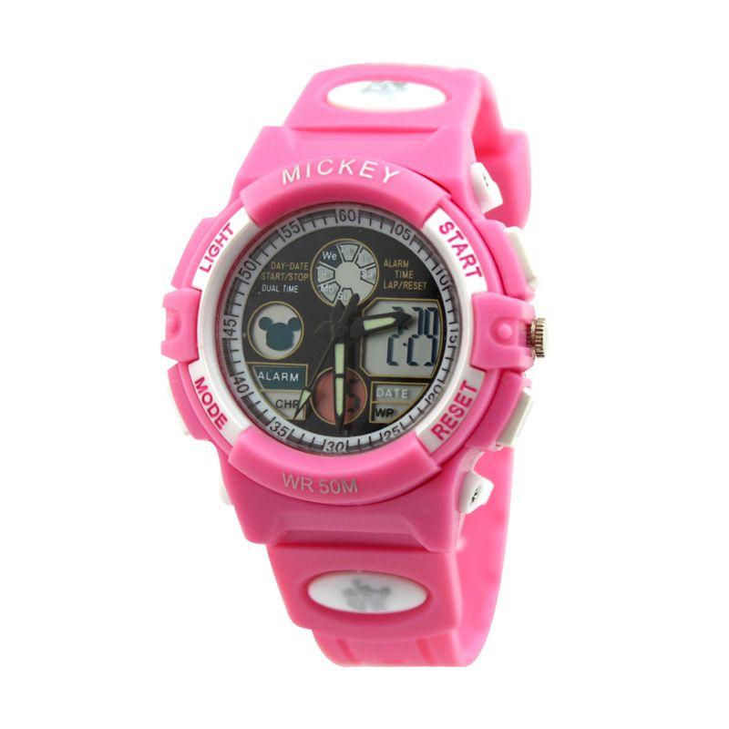 Disney Mickey MS5516-P Pink Jam Tangan Anak