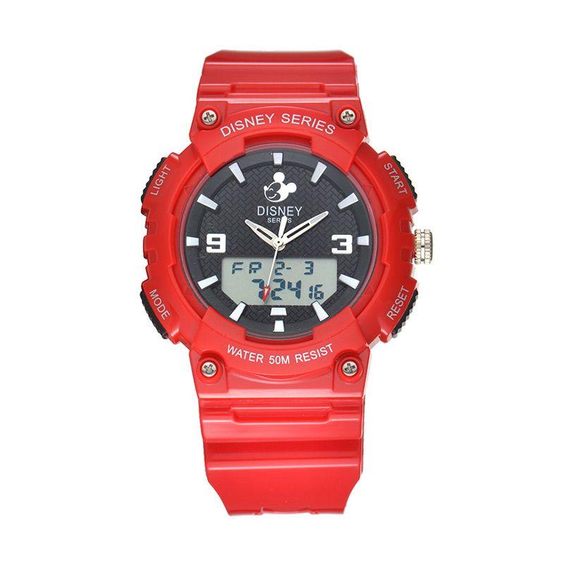 Disney Mickey MS5543-R Red Jam Tangan Sport