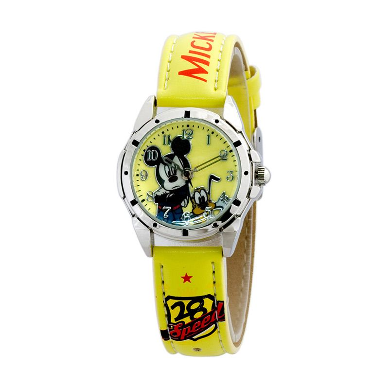Disney Mickey MSFR994-05C Yellow Jam Tangan Anak