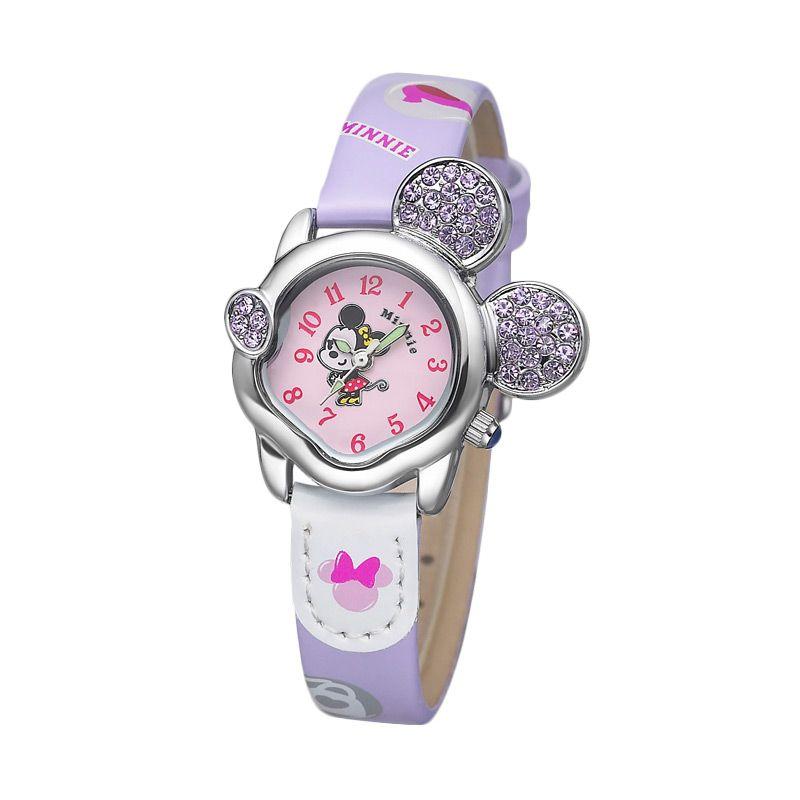 Disney MS5416-PL Mickey Purple Jam Tangan Anak