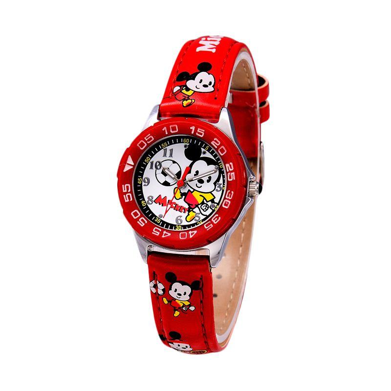Disney MS5446-R Mickey Red Jam Tangan Anak