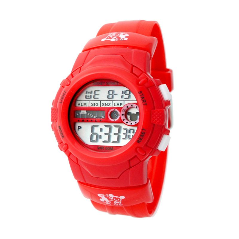 Disney MS5529-R Mickey Red Jam Tangan Anak