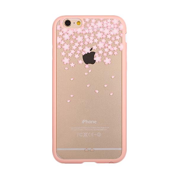 Kimi Custom Fancy Design Snowy Spring Season Casing iPhone 6 Plus