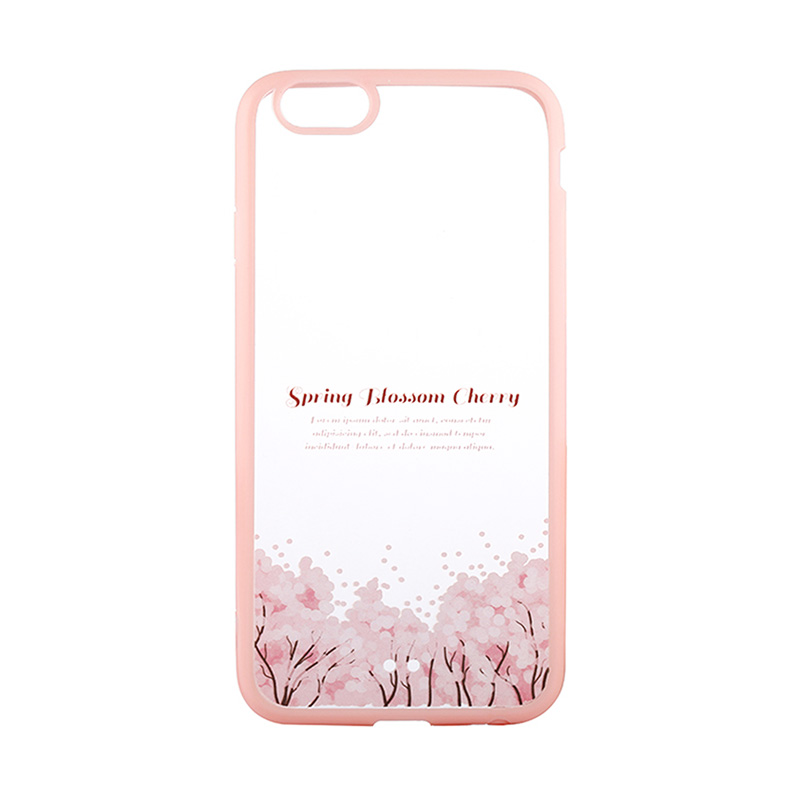Kimi Custom Fancy Design Spring Blossom Cherry Casing for iPhone 5 or 5S
