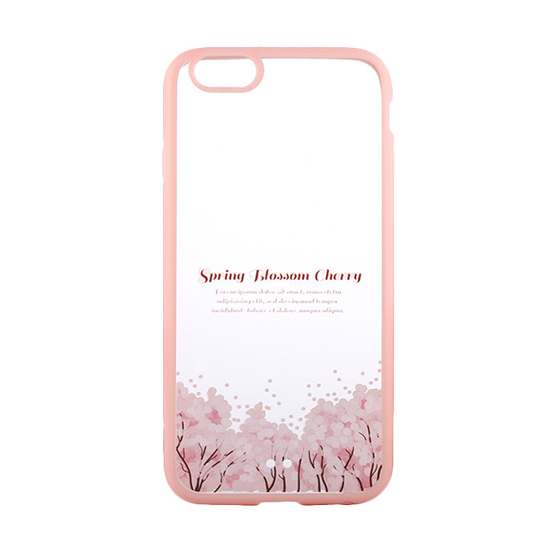 Kimi Custom Fancy Design Spring Blossom Cherry Casing for iPhone 6 Plus