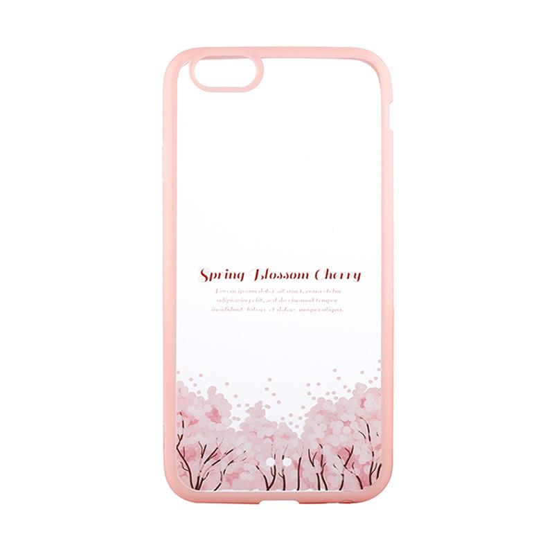Kimi Custom Fancy Design Spring Blossom Cherry Casing for iPhone 6