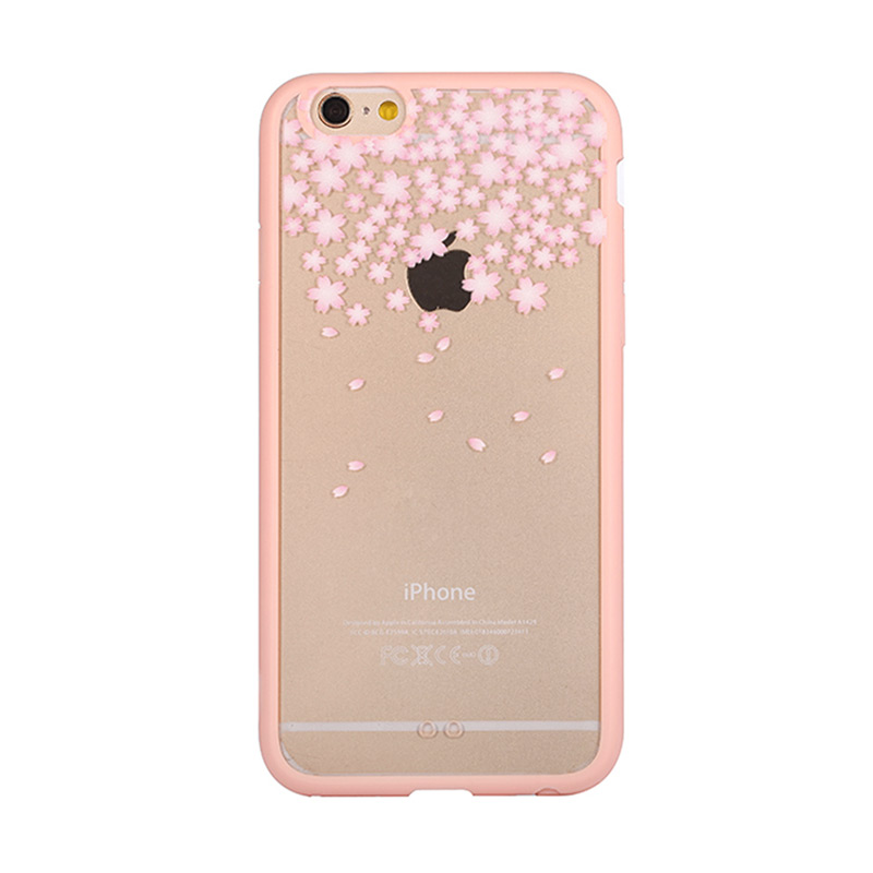 Kimi Custom Fancy Snowy Spring Season Casing for iPhone 5 or 5S
