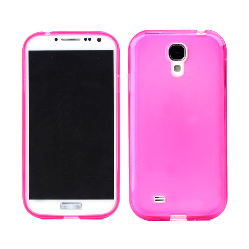 Kimi Fashion Protective Jelly Cute Pink Casing for Samsung Galaxy S4