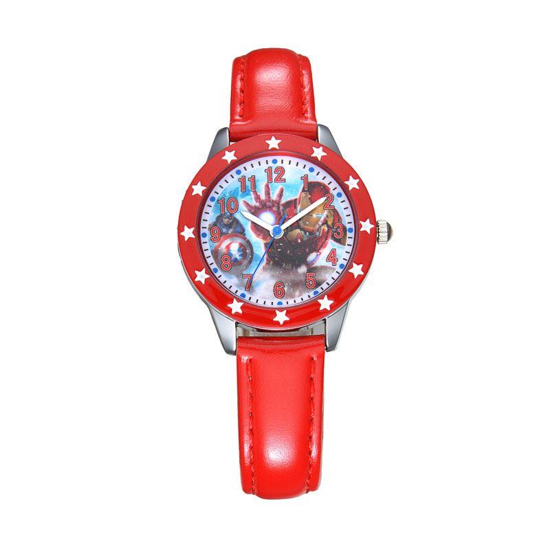Marvel The Avengers Iron Man MV8106-R Red Jam Tangan Anak