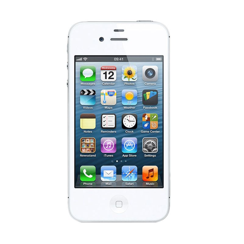 Apple iPhone 4 32 GB White Smartphone