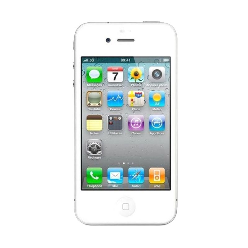 Apple iPhone 4S 16 GB White Smartphone