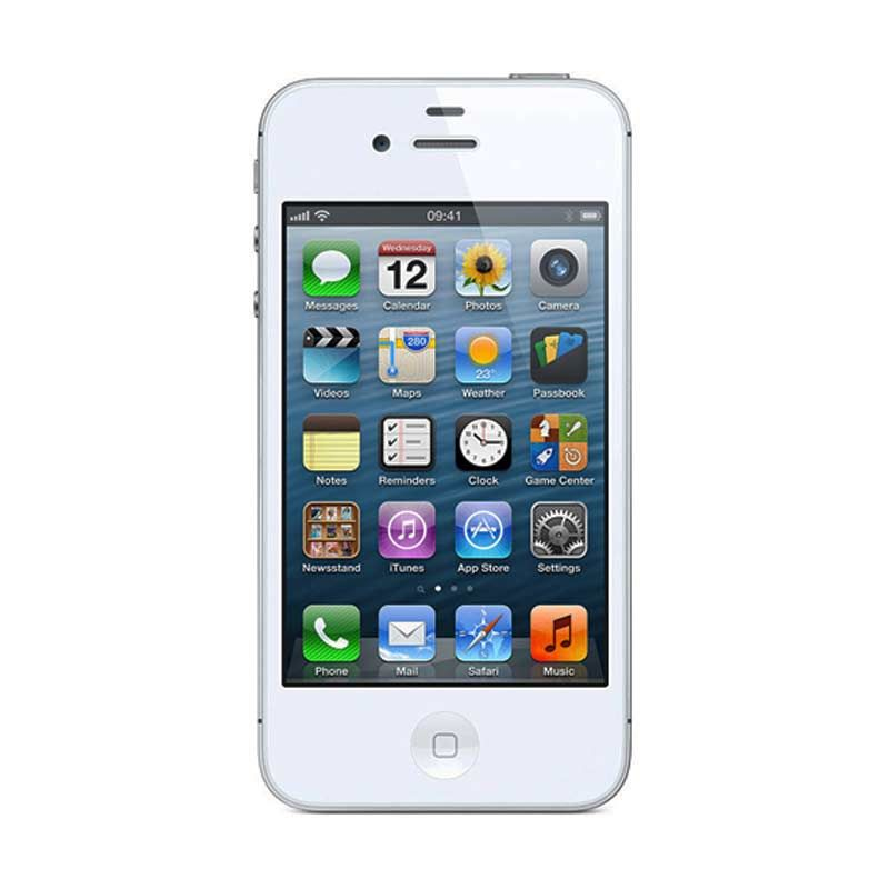 Apple iPhone 4S 64 GB Putih Smartphone