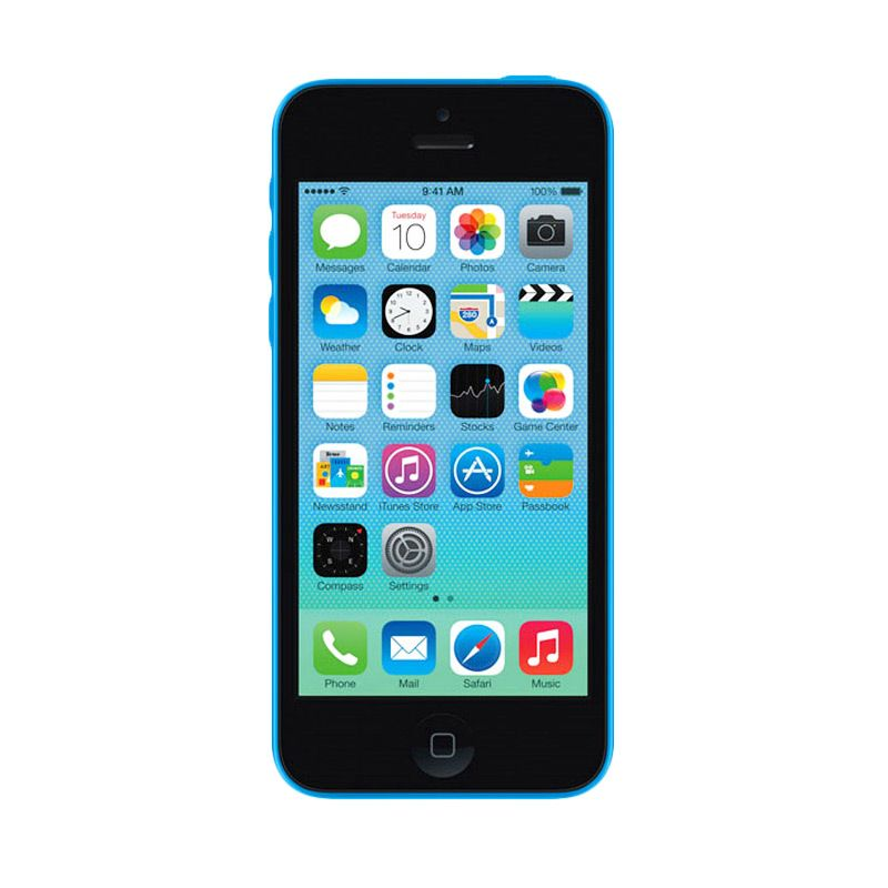 Apple iPhone 5C 8 GB Blue Smartphone [Refurbished]
