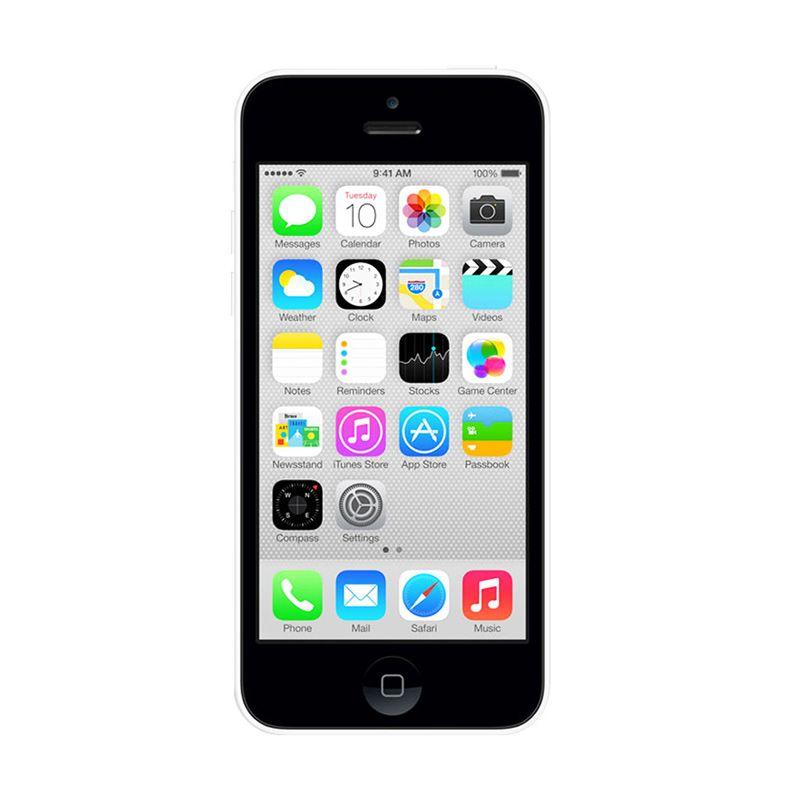 Apple iPhone 5C 8 GB White Smartphone [Refurbished]