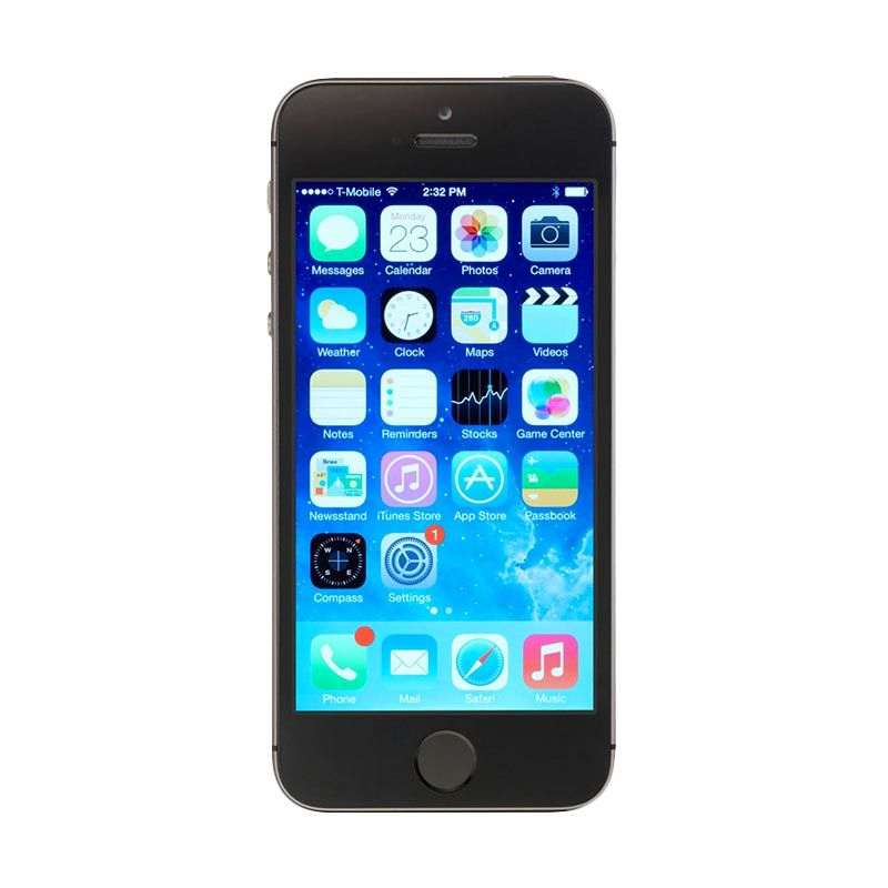 Diskon Apple iPhone 5S 16 GB Grey Smartphone