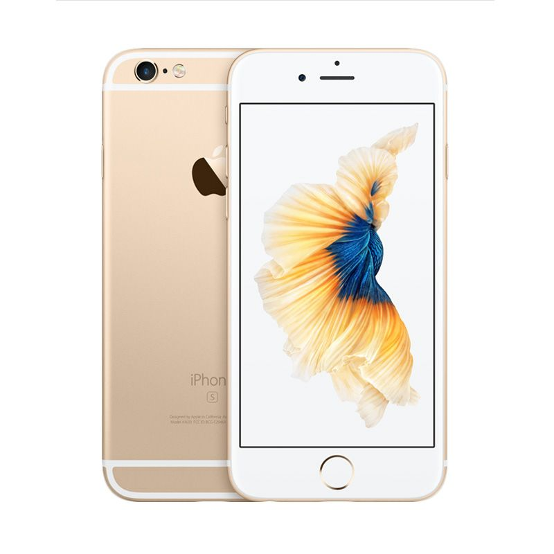 Apple iPhone 6S Plus 64 GB Space Gold Smartphone [Refurbish]