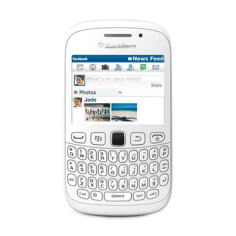 Blackberry Armstrong 9320 White Smartphone