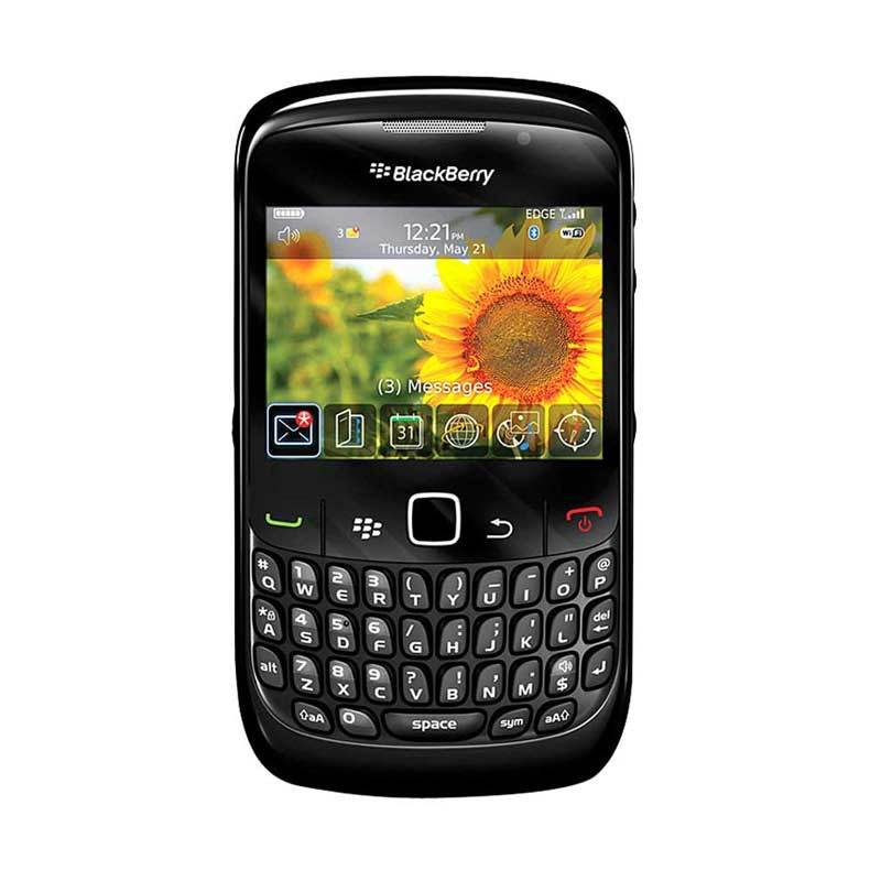 Blackberry Curve 8520 Gemini Black Smartphone