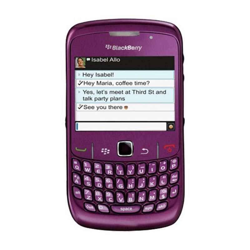 Blackberry Curve 8530 CDMA Purple Smartphone
