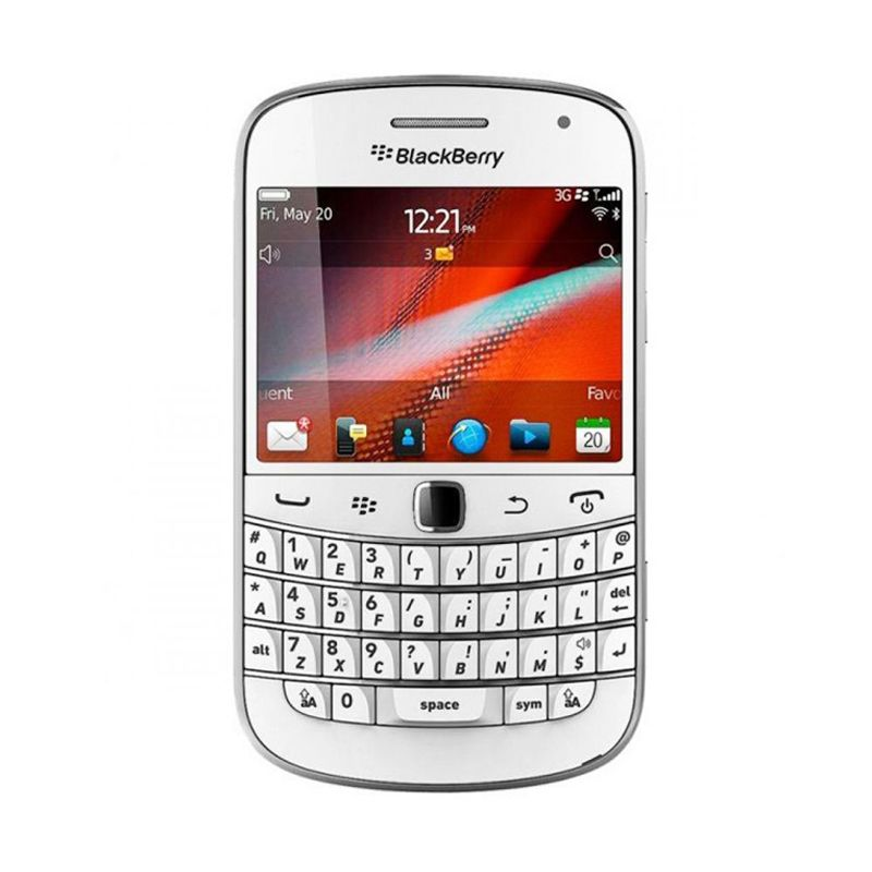 BlackBerry Dakota 9900 Putih Smartphone